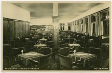 PBK-11028-2 Het interieur van restaurant-tearoom Gerzon aan de Korte Hoogstraat.