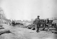 ALB-AW6 Album met foto's betreffende de aanleg van de Groene Kruisweg bij Poortugaal.Selectie van 3 uit ...