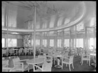 1978-3363 Het Ritz Carltoncafé op het bovenpromenadedek op de s.s. Nieuw Amsterdam II