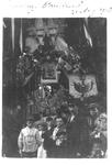 1983-3324 Versiering van de Bredestraat, 31 augustus 1903, waarschijnlijk ter viering van de verjaardag van Koningin ...