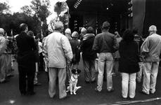 1993-3601 Uitmarkt in het Museumpark. Dit jaar is de Uitmarkt in het Museumpark, waarvan tegelijkertijd de opening ...