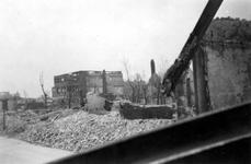 1998-971 Restanten aan de Goudsestraat en omgeving, na het bombardement van 14 mei 1940.
