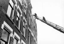 2005-5409 In de Vrouw-Jannestraat is er brand in een onbewoond pand.