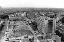 2005-7807-EN-7808 Overzicht van de omgeving van het Weena en Schiekade:Van boven naar beneden afgebeeld:-7807: Gezicht ...