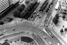 2005-7869-TM-7873 Overzicht vanaf het Shell-gebouw:Van boven naar beneden afgebeeld:-7869: Overzicht van het Hofplein ...