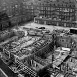 -1299 Album met foto's betreffende de bouw van het Scala Theater aan de Westblaak.