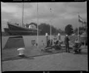 2005-2315-246 Het Redding- en Veerdienstmuseum Jan Lels aan de Badweg in Hoek van Holland. Het museum is gevestigd in ...