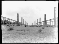 1976-4903 De aanleg van een sorteerterrein langs de Courzandseweg.