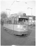 11169 Tramrijtuig 603 (lijn 5) in Schiebroek.