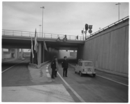 12124 Politieaanwezigheid bij openstelling nieuwe verkeerstak Kleinpolderplein.