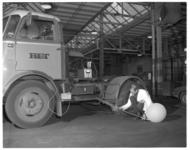 12135 Meting verricht bij RET-voertuig in verband met uitstoot uitlaatgassen.