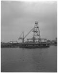 12842 Het wagenveer omgebouwd tot blusfort; krijgt de Geulhaven als ligplaats.