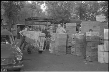 21463-2-21 Laatste dagen voor groothandelsmarkt op het Noordplein in Oude Noorden, die gaat verhuizen naar Spaanse Polder.