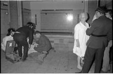 22821-5-15 Slachtofferhulp na een uitslaande brand in het pand Rosetraat 104.