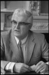 23167-7-28 Portret van dr. Walter Goddijn ofm, die is benoemd tot buitengewoon hoogleraar te Tilburg.