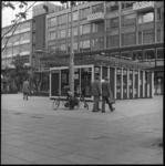 25886-3-9 EEG huisje Stadhuisplein. Op die locatie wordt het EEG Food Festival gehouden; van 19-08-1977 tot en met ...