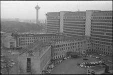 305497-13 Uitbreiding van het Dijkzigt Ziekenhuis o.a. door de bouw van een extra verdieping op de noordelijke ...