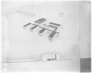 3109-2 Bouwtekening van het Calandlyceum in Schiebroek.