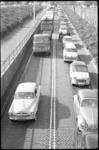 4324-3 Verkeersdrukte op de tunneltraverse richting Maastunnel.