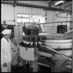 8936 Productie van ijsjes bij de Nederlandse Melk Unie.
