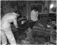 923 Brandschade op de eerste etage in een pand aan de Van der Werffstraat, hoek Meermanstraat.