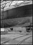 RDM-11220-4 De bouw van het SS Nieuw Amsterdam (2) op de werf van de Rotterdamsche Droogdok Maatschappij, gezien naar ...