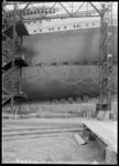 RDM-11220-7 De bouw van SS Nieuw Amsterdam (2) op de werf van de Rotterdamsche Droogdok Maatschappij, de rechter ...