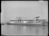 RDM-21565 SS Chelwood Beacon (RDM-301) langs kraanbaan 12 van de Rotterdamsche Droogdok Maatschappij, RDM.
