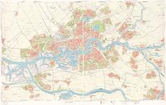 1974-955 Plattegrond van Rotterdam en het Europoortgebied. Blad 2: stadsagglomeratie: Rotterdam, Nieuwerkerk aan den ...