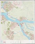 1974-994 Topografische kaart van Rotterdam en omstreken   bestaande uit 32 bladen. Blad 14 Ridderkerk en Krimpen aan ...