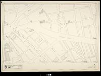 2006-886-6 Kaart van het verwoeste gebied in het centrum van Rotterdam, blad 6: omgeving Goudsesingel