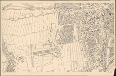 I-127-2 Plattegrond van Rotterdam. Blad 2: het afgebeelde gebied omvat de Blijdorpse polder, Beukelsdijk, de Coolsche ...