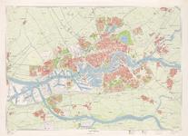 XXX-61-2 Plattegrond van Rotterdam en het Europoortgebied. Blad 2: stadsagglomeratie: Rotterdam, Nieuwerkerk aan den ...
