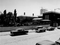 1969-1389-EN-1390 Uitbreiding van het Museum Boymans van Beuningen aan de Mathenesserlaan.Afgebeeld van boven naar ...