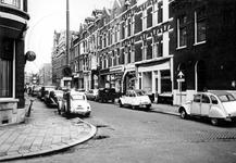 1969-1931 Gezicht in de Schietbaanstraat, vanuit westelijke richting. Op de voorgrond de 's-Gravendijkwal.
