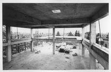 1969-2098-TM-2100 Nieuwbouw van het Gemeentearchief aan de Mathenesserlaan.Afgebeeld van boven naar beneden:-2098: ...