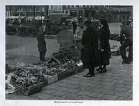1969-454 Bloemenmarkt op de Goudsesingel.