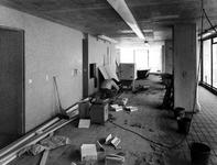 1970-1493-TM-1495 Interieur van het derde depot van het Gemeentearchief.Afgebeeld van boven naar beneden:-1493: ...