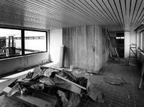 1970-1498-TM-1502 Interieur van het derde depot van het Gemeentearchief.Afgebeeld van boven naar beneden:-1498: grote ...