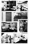 1971-2567 Interieur van het Gemeentearchief (derde depot) aan de Mathenesserlaan. Montage van diverse onderdelen van de ...