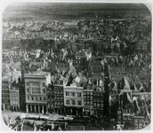 1971-371 Gezicht op de gevels aan de zuidzijde van de Grotemarkt, gezien vanaf de toren van de Sint-Laurenskerk. ...