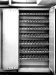 1971-684-TM-688 Koelcel in de kelder van het Gemeentearchief (derde depot).Afgebeeld van boven naar beneden:-684: ...