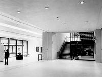 1972-1071-TM-1073 Interieurs van het nieuwe gedeelte van het Museum Boymans van Beuningen aan de ...