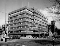 1972-535 Mathenesserlaan met het gebouw OGEM naast het Gemeentearchief. Links de Heemraadssingel.