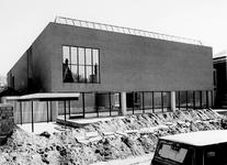 1972-867 Nieuwbouw van het Museum Boymans van Beuningen aan de Mathenesserlaan.
