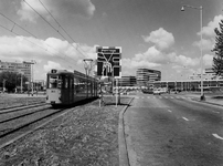 1973-1355 Wegverlegging kruising Goudsesingel - Pompenburg.