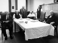 1973-1380-TM-1384 Interieurs van de mannenafdeling van het bejaardentehuis Van Oostervant aan de ...