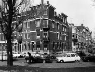 1973-734 Hoekhuis nummer 341aan de westzijde van de Heemraadssingel hoek van de Rochussenstraat..