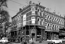 1973-795 Heemraadssingel met het café Capitol aan de Nieuwe Binnenweg nummer 345b.