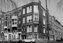 1973-809 Hotel X aan de Heemraadssingel nummer 314. Rechts De Vliegerstraat.